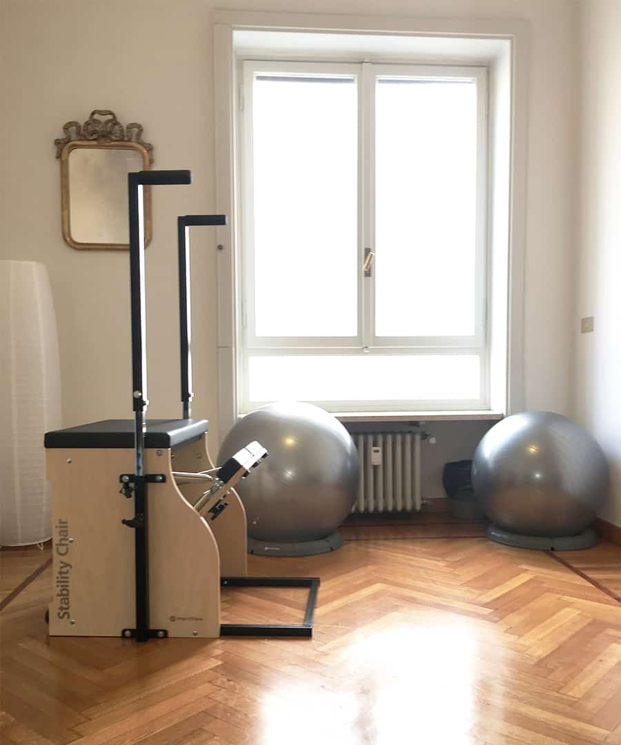 SALA PERSONAL PILATES con STABILITY CHAIR originale STOTT®